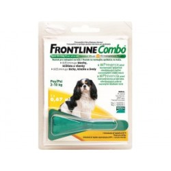 Frontline COMBO Spot-on Dog  S 1x0,67ml (do 10kg)